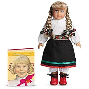American Girl 25th Anniversary Kirsten Mini Doll and Book