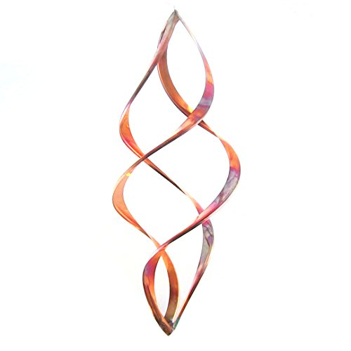 "Infinity Copper Wind Spinner (9"")"