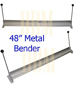 "48"" Aluminum Steel Sheet Metal Brake Bending Bender Bench Top"