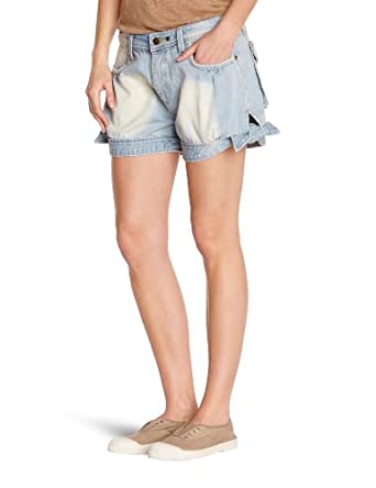 Molly Bracken Women's Shorts  - Blue - Bleu (Blue Vintage) - 10 (Brand size: T2)