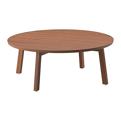 IKEA STOCKHOLM - Coffee table, walnut veneer - 93 cm
