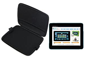 "MiTAB Black Hard Protective Case Cover For The Kurio 10"" Personal Tablet"
