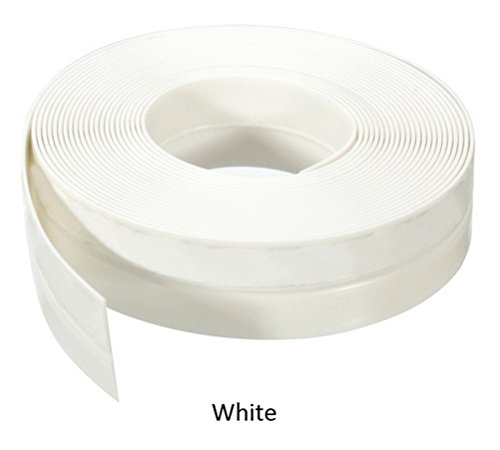 35mmX5m Window Silicone Rubber Sealing Sticker Seal Strip 3M Adhesive (WHITE) (Round Rubber Weatherstrip compare prices)