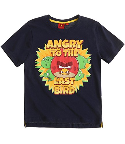 Angry Birds Ragazzi Maglietta manica corta - blu marino - 116
