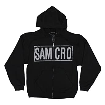 Sons of Anarchy Samcro Boxed Reaper Hoodie XL