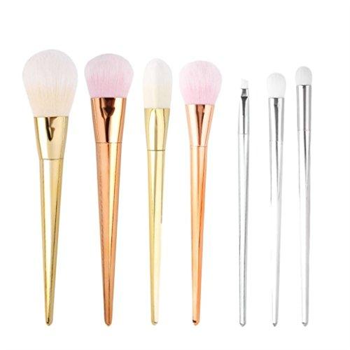 Imported-Pro-7Pcs-Make-up-Powder-Foundation-Blush-Shadow-Cosmetic-Brushes-Full-Set