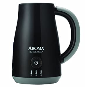 AROMA AFR-120B Hot X-Press Milk Frother by Aroma