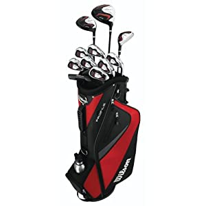 Wilson Profile HL Complete Package Golf Set by Wilson