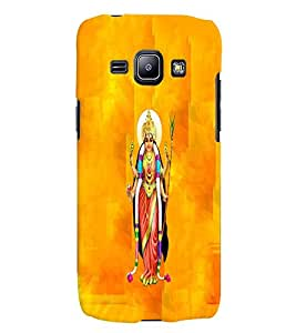 Fuson Premium Goddess Printed Hard Plastic Back Case Cover for Samsung Galaxy J1 SM-J100H