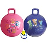 Hippity Hop 45 Cm Including Free Foot Pump, For Children Ages 3-6 Space Hopper, Hop Ball Bouncing Toy