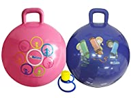 Hippity Hop 45 Cm Including Free Foot Pump, For Children Ages 3-6 Space Hopper, Hop Ball Bouncing…
