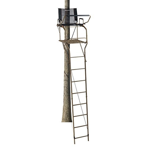 sturdy-field-stream-d-tube-outpost-xl-17-hunting-ladder-tree-stand-capacity-300lbs-by-field-stream