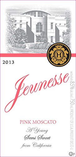 2013 Jeunesse California Pink Moscato 750 Ml