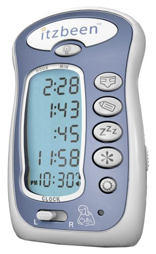Itzbeen Pocket Nanny Baby Care Timer, Blue