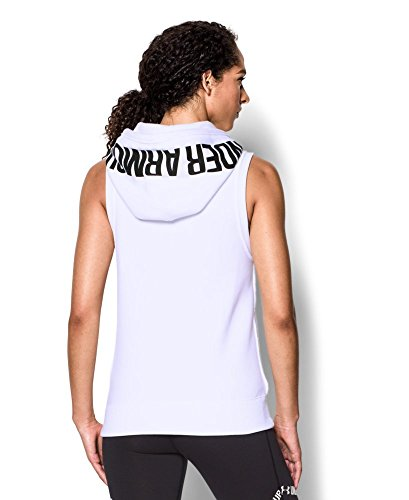 Under Armour Women's UA Favorite Fleece Hoodie Vest X-Small White
