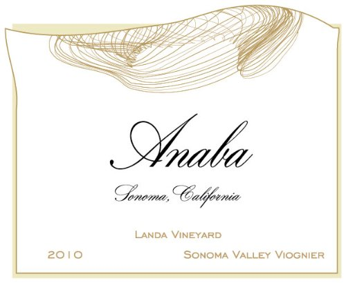 2010 Anaba Landa Vineyard Viognier White Wine