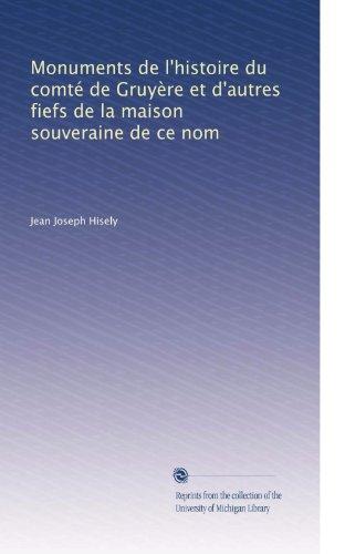 Monuments de l'histoire du comt? PDF
