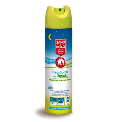 Bayer Pet Casa Clean Deodorante alla Citronella per tessuti e ambienti frequentati da cani e gatti