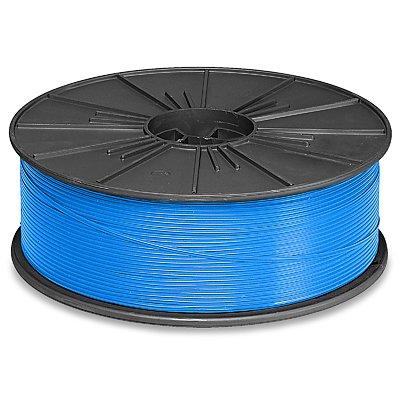 Blue Plastic Twist Tie Spool