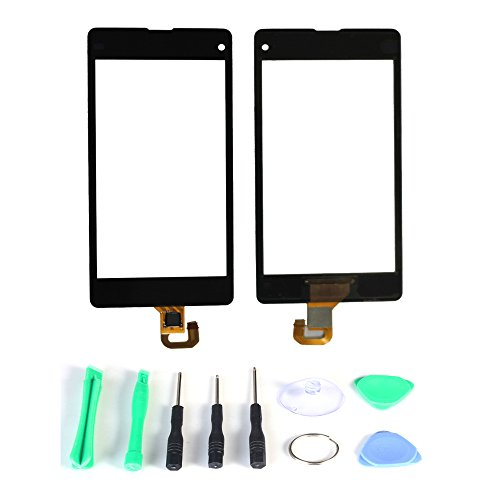 Generic Touch Screen Digitizer Panel Replacement (Lcd Display Not Included) For Sony Xperia Z1 Mini Z1C M51W D5503