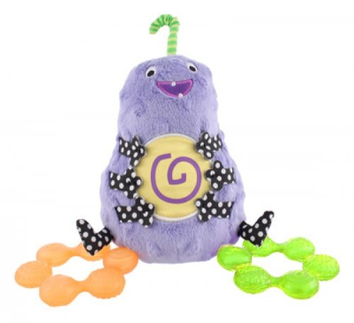 Sassy Non-sters Bumpee Plush Plus Bonus Water-Filled Teethers! - 1