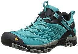 KEEN Women\'s Marshall WP Hiking Shoe,Baltic/Neutral Gray,5 M US