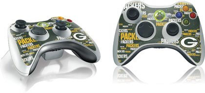 NFL - Green Bay Packers - Green Bay Packers Blast - Skin for 1 Microsoft Xbox 360 Wireless Controller