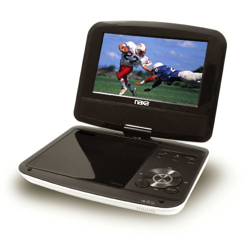 Naxa Electronics Npd-704 7-Inch Tft Lcd Swivel Screen Portable Dvd Player With Usb/Sd/Mmc Inputs