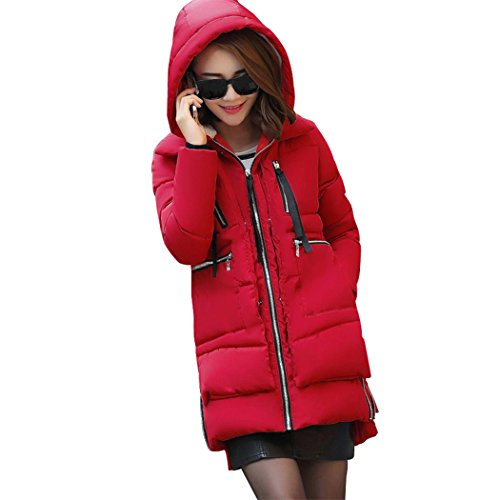 Mr.Angelo -  Cappotto  - Parka - Donna Red XXXXX-Large