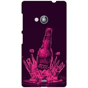 Nokia Lumia 535 Phone Cover - Matte Finish Phone Cover