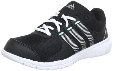 adidas A.T. 120 G95397, Damen Hallenschuhe, Schwarz (Black 1 / Metallic Silver / Prism Mint F13), EU 37 1/3 (UK 4.5)