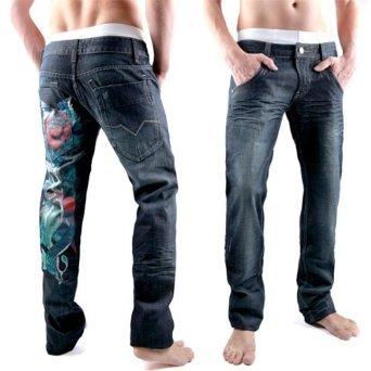 Loose Angel Casanova Men Jeans Pants [P038]