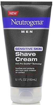 Neutrogena Men Sensitive Skin Shave Cream 5.10 oz
