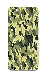 Fonokart Premium Xiaomi Redmi Mi 5 Camouflage Pattern Designer 3D Printed Matte Finish Slim Unique High Quality Case Slim Lightweight Back Cover Hard Case