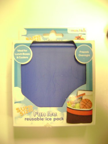 Super Sized Fun Reusable Ice Pack Blue (Munchkin Freezer Bag compare prices)