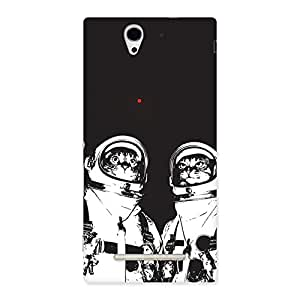 Cat Astro Back Case Cover for Sony Xperia C3