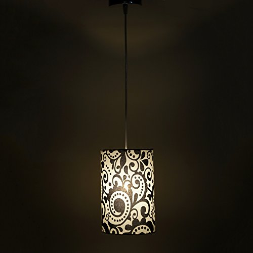 Inspired by Nature White and Black Modern and Decorative Hanging Lamp
