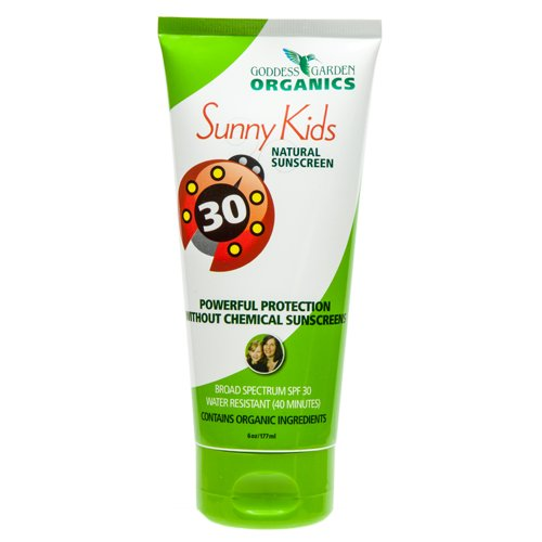 Goddess Garden Sunny Kids Natural Sunscreen Spf 30, 6.0 Ounce