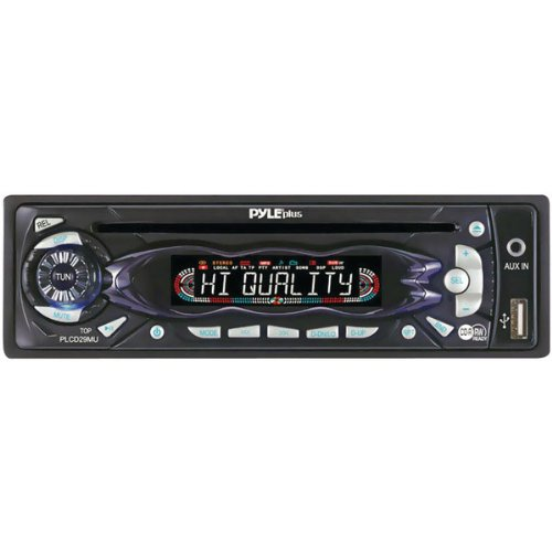 pyle plcd29mu amfm receiver auto loading cdmp3 player with. Black Bedroom Furniture Sets. Home Design Ideas