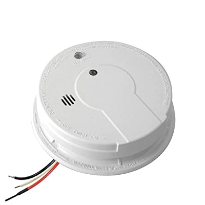 Kidde i12040 Hardwired Smoke Alarm with Battery Backup and Smart Hush