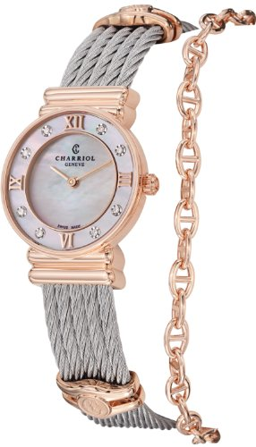charriol-st-tropez-ladies-mother-of-pearl-dial-rose-gold-plated-diamond-watch-028pd1540552