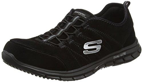 Skechers Glider, Scarpe da ginnastica Donna, Nero (Bbk), 38
