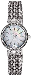Aspen Analog Mother of Pearl Dial Womens Watch-AP1848