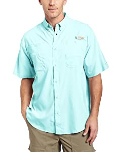 Columbia Mens Tamiami II Short Sleeve Shirt (Tall) by Columbia