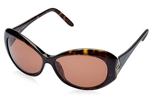 Escada Escada Oval Sunglasses (Demi Brown) (SES 033|722|Free Size)