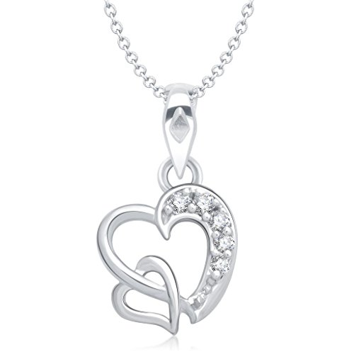 Vina-Jewels-Valentine-Dual-Heart-Shape-Rhodium-plated-Pendant-for-Women-P1227R-VKP1227R-Jewellery