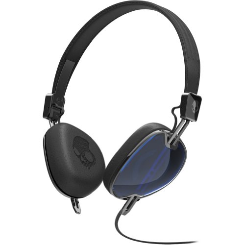 Skullcandy Navigator With Mic3 Lifestyle Wired Headphone - Royal Blue/Black / One Size