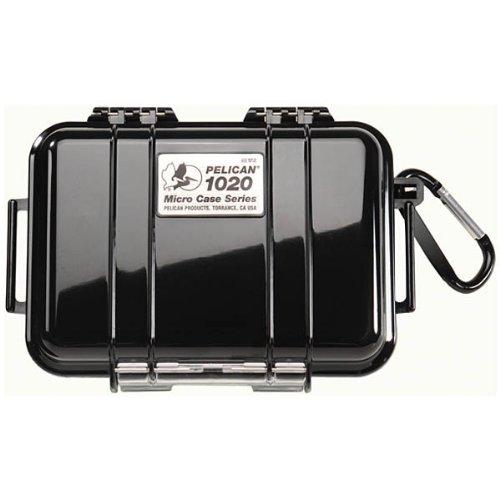 "Pelican 1020 Case, 6.37"" X 4.75"" X 2.12"" Micro Case - Clear W/ Black Liner"