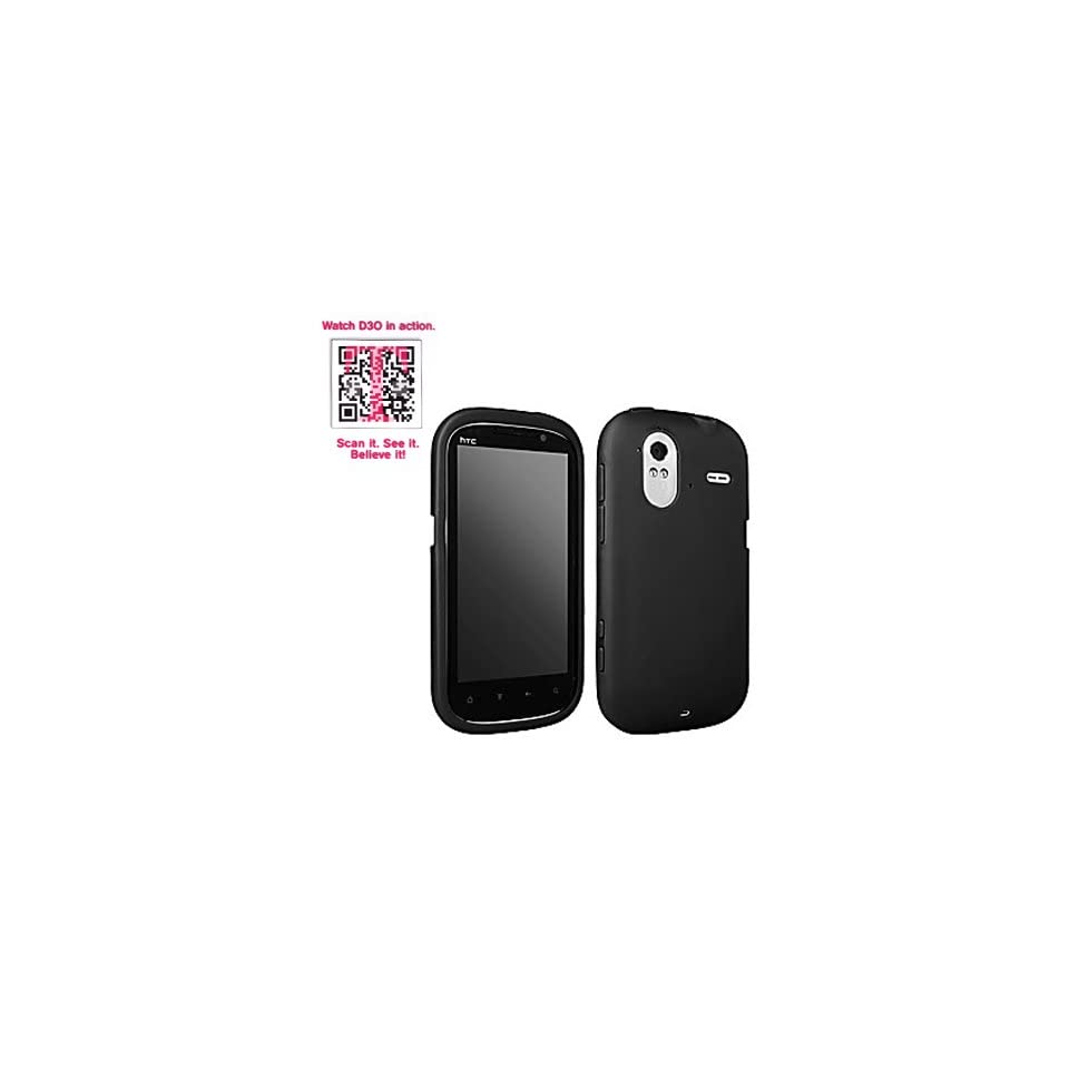 T Mobile OEM Sleeve Gel Cover Skin Case for T Mobile HTC Amaze 4G  Black