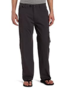 prAna Men's Stretch Zion Pant 30-Inch Inseam, Charcoal, Medium